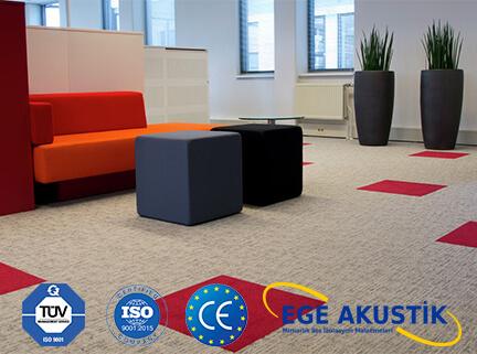 akustik karo zemin ses yalıtım izolasyonu halısı m2 fiyatları