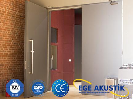 akustik ses geçirmeyen ses yalıtımlı kapı fiyatları