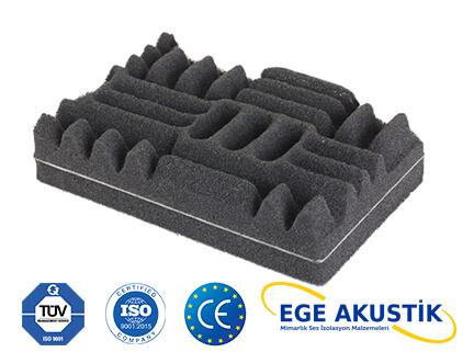 bariyerli akustik sünger m2 fiyatları