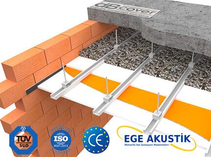 ege akustik tavan ses yalıtımı izolasyonu