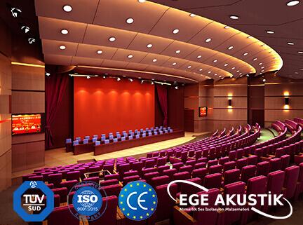 konferans salonu akustik ses yalıtımı izolasyonu