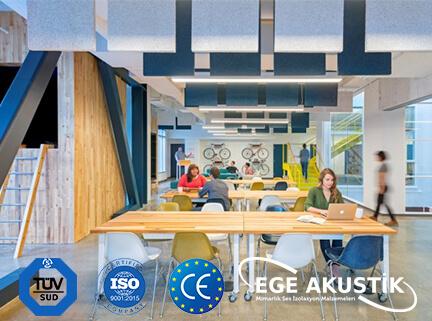 ofis akustik ses yalıtımı izolasyonu