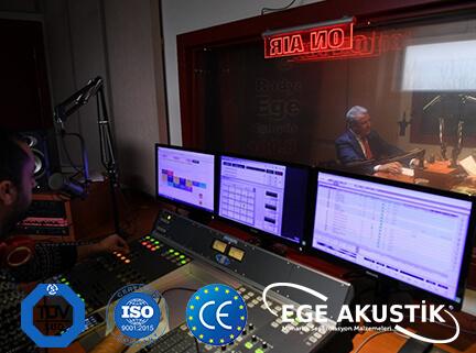 radyo odası akustik ses yalıtımı izolasyonu