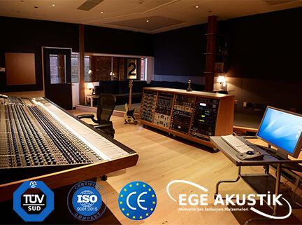 ses kayıt odası akustik ses yalıtımı izolasyonu