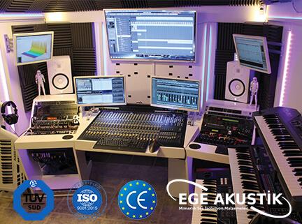 stüdyo akustik ses yalıtımı izolasyonu