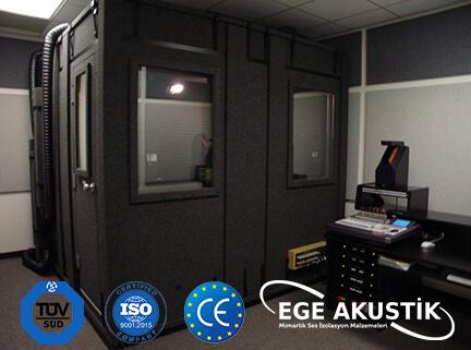 vocal odası akustik ses yalıtımı izolasyonu
